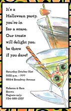 Halloween Sips Invitation