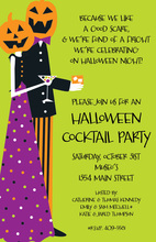 Costume Couple Invitation