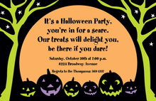Spooky Line Invitation