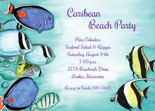 Under The Sea In Caribbean Sea Invitations