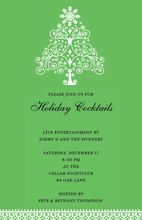 Oh Christmas Tree Party Invitation
