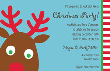 Oh My Reindeer Invitation