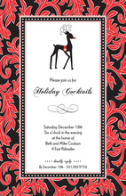 Reindeer Ready Invitation