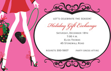 Gift Girl Invitations