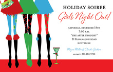 Holiday Steppers Invitation