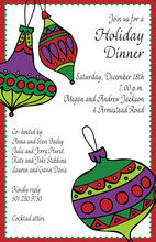 Ornament Trio Invitations
