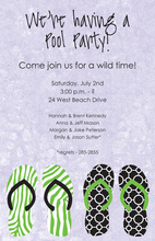 Casual Wearables Party Invitations
