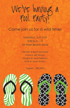 Discover Sandals Beach Invitations