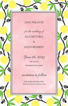 Garden Vines Party Invitations