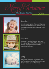 Truly Modern Contemporary Photo Cards