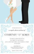 Happy Bridal Couple Shower Invitations