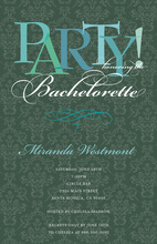 Bachelorette Party Baroque Modern Olive Invitations