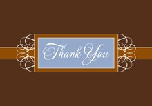 Premium Grand Rich Chocolate Thank You Cards