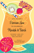 Tropical Island Punch Invitations