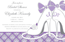 I DO Shoes Bridal Shower Event Invitations