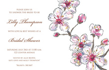 Spring Cherry Invitations