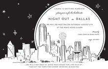 Dallas City Skyline Invitation