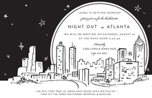 Atlanta City Skyline Invitation
