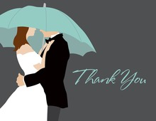 Umbrella Love Thank You Cards