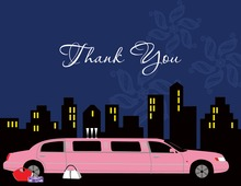 Out On The Town Thank You Cards