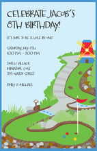 Mini Golf Invitations