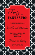 Versatile Refined Formal Black Invitation
