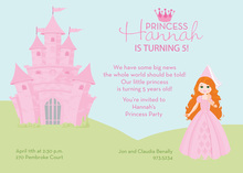Readhead Princess Castle Invitations