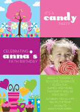 Colorful Candy Photo Cards