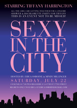 Modern Sex In The City Party Invitations
