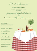 Unique Italian Setting Invitations