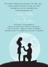 Proposal Silhouette Bali Invitations