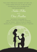 Proposal Silhouette Wasabi Invitations
