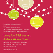 Square Holiday Special Lantern Rehearsal Invitations