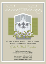 Home Sweet Home Taupe Invitations