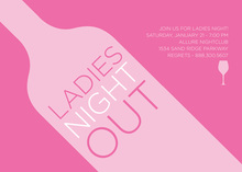 Ladies Wine Tasting Invitation