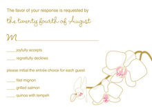 Blooming Orchid Pink RSVP Cards