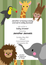 Jungle Boogie Invitations