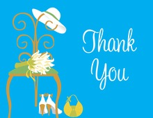 Special Day Blue Thank You Cards