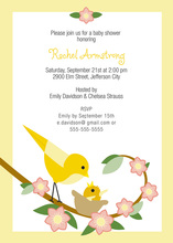 Nursing Little One Invitations