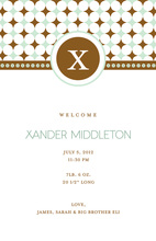 Elegant Initial Invitation