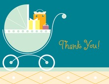 Gifts Carriage Thank You Cards
