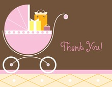 Girl Carriage Gifts Girl Thank You Cards