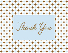 Classic Dots Boy Thank You Cards