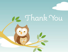 On Branch Boy Thank You Cards