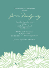 Stylish Popular Flower Invitation