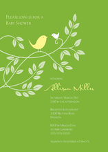Joyful Together In Green Invitation