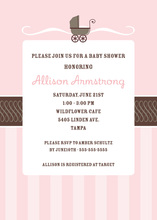 Super Buggy Girl Invitation