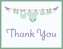 Hanging Thank You Cards