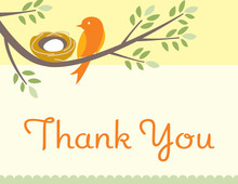 Nesting Thank You Cards