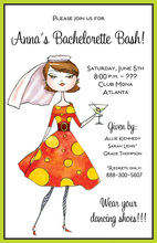Miss Bachelorette Invitations